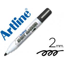 Rotulador artline camiseta ekt2 negro punta redonda 2 mm para uso en cam