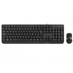 Set teclado + raton ngs cocoakit multimedia usb