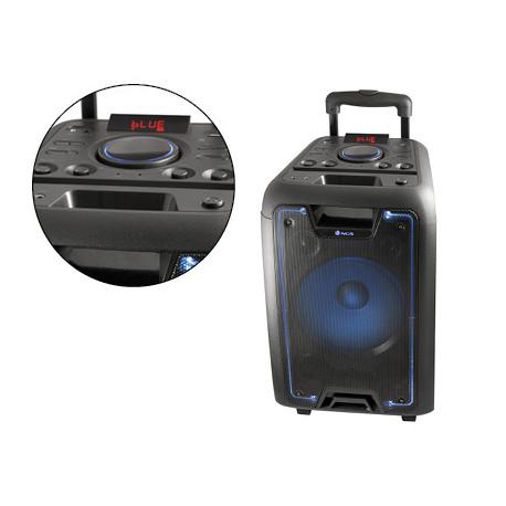 Altavoz ngs bluetooth portatil speaker wildmetal pantalla led 50w 1800 mah