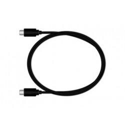 Cable usb 31 tipo c mediarange longitud del cable 12 mt negro
