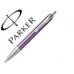 Boligrafo parker im premium violeta ct