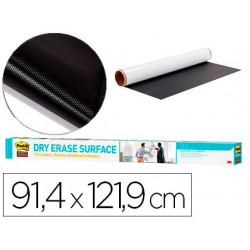 Pizarra blanca post it super sticky rollo adhesivo removible 914x1219 cm