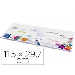 Planning sobremesa oxford para colorear motivo floral 52 hojas 250 gr 115x