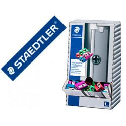 Sacapuntas staedtler metalico 1 uso expositor sobremesa 100 unidades colore