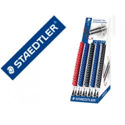 Rotulador staedtler lumocolor permanente duo 348 punta f 06 mm punta m 15