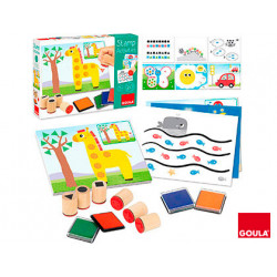 Juego goula didactico stamp activities