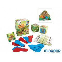 Juego didactico miniland bigfoot para trabajar la cooperacion