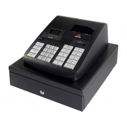 Registradora olivetti ecr 7790 ld display vfd cajon estandar color negro