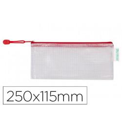 Bolsa multiusos tarifold pvc 250x115 mm apertura superior con cremallera po