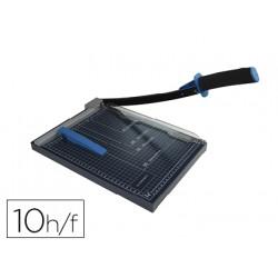 Cizalla qconnect metalica de palanca a4 capacidad corte 10 hojas