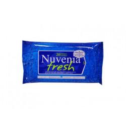 Toallita humeda nuvenia fresh para cara y manos paquete de 20 unidades
