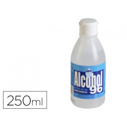 Alcohol etilico mpl 96 g bote de 250 ml