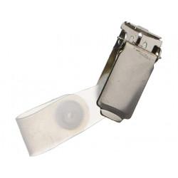 Pinza identificador 3l metalica pack de 10 unidades