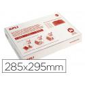 Forralibro apli pvc con solapa ajustable adhesivo 285x295 mm