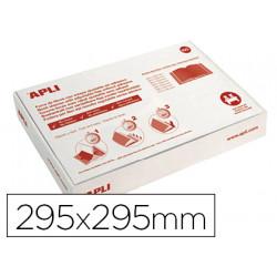 Forralibro apli pvc con solapa ajustable adhesivo 295x295 mm