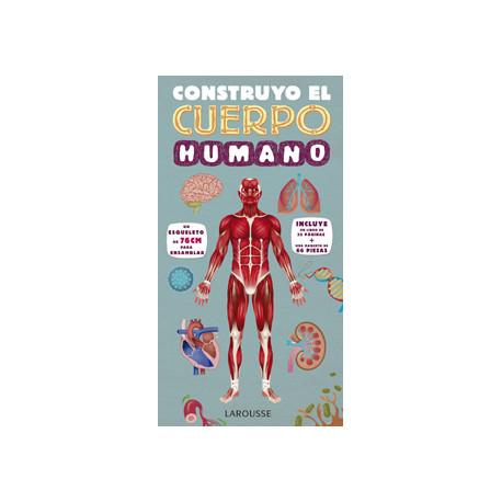 Libro larousse construyo el cuerpo humano tapa cartone 32 paginas 365x190 m