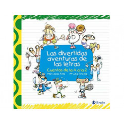 Libro bruño divertidas aventuras de las letras tapa cartone 408 paginas 220