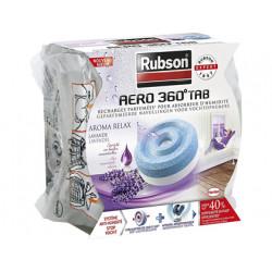 Deshumidificador rubson aero 360 aromaterapia lavanda recambio pastilla