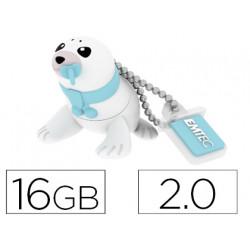 Memoria usb emtec flash 16 gb 20 foca