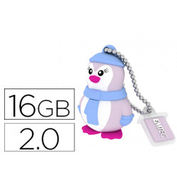 Memoria usb emtec flash 16 gb 20 pinguino