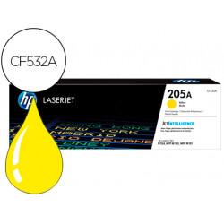 Toner hp 205a laserjet m154a / 154nw / mfp m180n / 181fw amarillo 900 pagin
