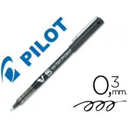 Rotulador pilot punta aguja v5 negro 05 mm