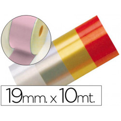 Cinta fantasia 10 mt x 19 mm rosa