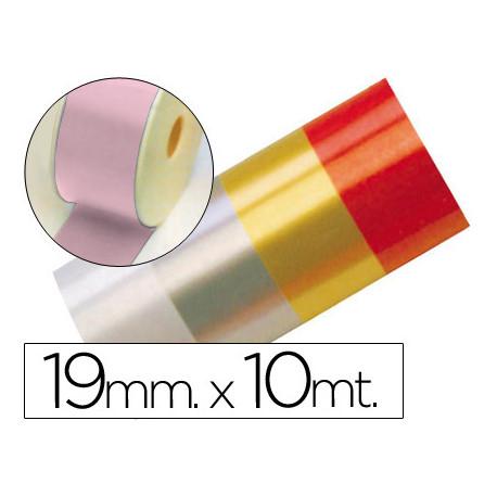 Cinta fantasia 10 mt x 19 mm rosa