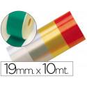 Cinta fantasia 10 mt x 19 mm verde