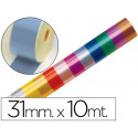 Cinta fantasia 10 mt x 31 mm celeste