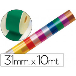 Cinta fantasia 10 mt x 31 mm verde