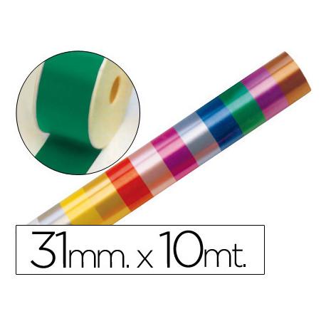 Cinta fantasia 10 mt x 31 mm verde