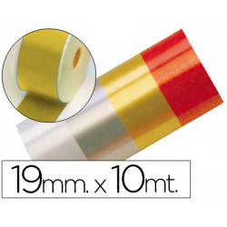 Cinta fantasia 10 mt x 19 mm oro