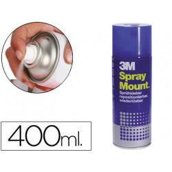 Pegamento scotch spray mount 400 ml adhesivo reposicionable