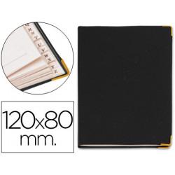 Listin telefonico 9030 tapa flexible tamaño 12x8 cm con cantonera dorada
