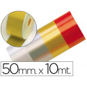 Cinta fantasia 10 mt x 50 mm oro