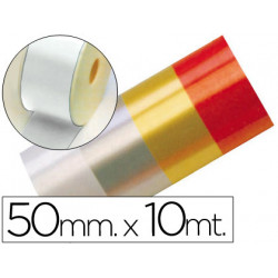 Cinta fantasia 10 mt x 50 mm blanco