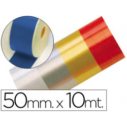 Cinta fantasia 10 mt x 50 mm azul