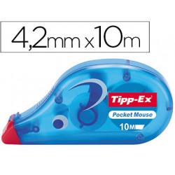 Corrector tippex cinta pocket mouse 42 mm x 10 m