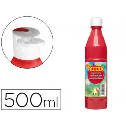 Tempera liquida jovi escolar 500 ml bermellon