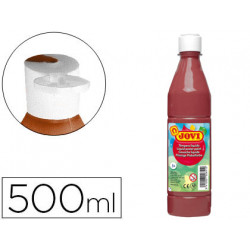 Tempera liquida jovi escolar 500 ml marron