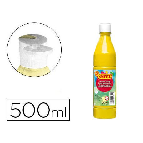 Tempera liquida jovi escolar 500 ml amarillo claro