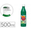 Tempera liquida jovi escolar 500 ml verde oscuro