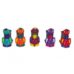 Coche infantil elefante loco expositor de 24 unidades
