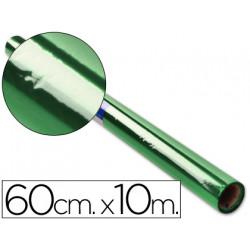 Papel celofan liderpapel rollo verde 060 x 10 mt