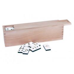 Domino master profesional 9/9 caja madera