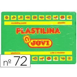 Plastilina jovi 72 verde claro unidad tamaño grande