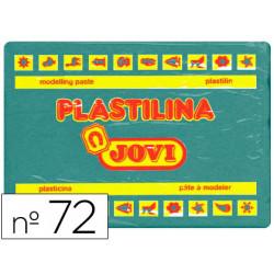 Plastilina jovi 72 verde oscuro unidad tamaño grande