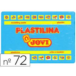Plastilina jovi 72 azul claro unidad tamaño grande