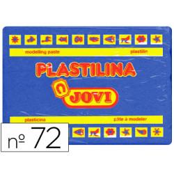 Plastilina jovi 72 azul oscuro unidad tamaño grande